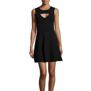French Connection Cutout Fit-and-Flare Dress